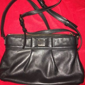 Cole Haan Leather cross body bag.